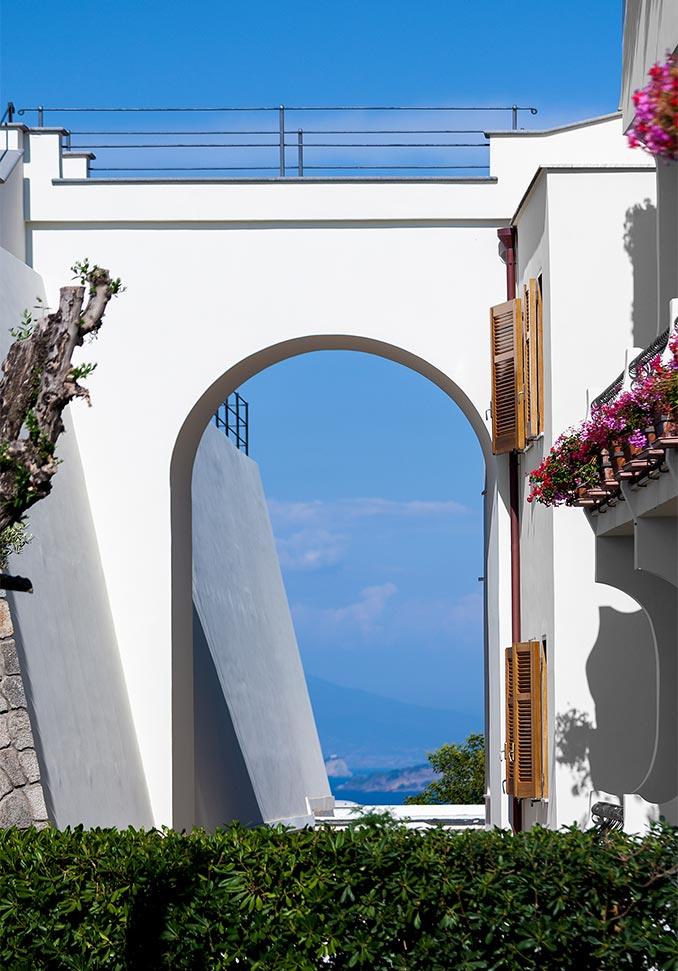 hotel ischia san montano ingresso